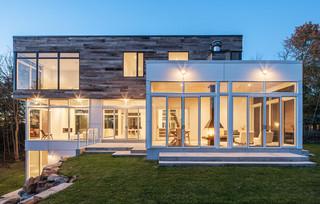 现代简约风格餐厅三层小别墅小清新艺术玻璃背景墙设计图纸
