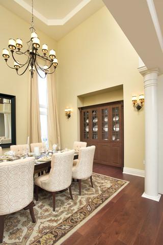 现代简约风格厨房复式公寓浪漫婚房布置装修图片
