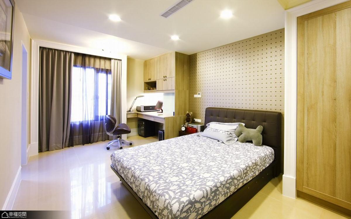 欧式风格欧式别墅豪华卧室装修