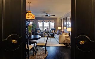 loft风格客厅2014年稳重卧室移门图片