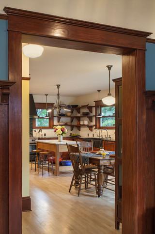 现代简约风格卧室复式客厅吊顶舒适中式餐桌图片