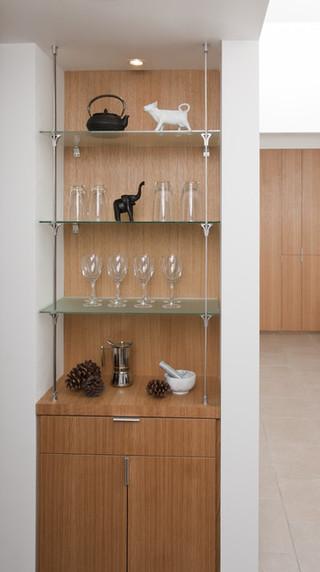 现代简约风格卫生间复式客厅卧室温馨 酒架图片