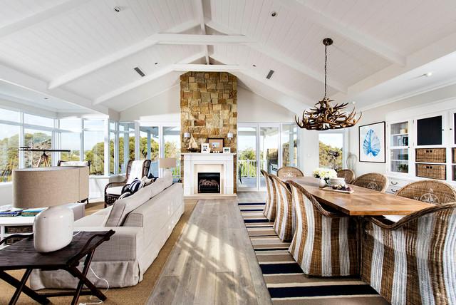 地中海风格室内一层别墅温馨卧室中式餐厅布艺沙发及价格图片
