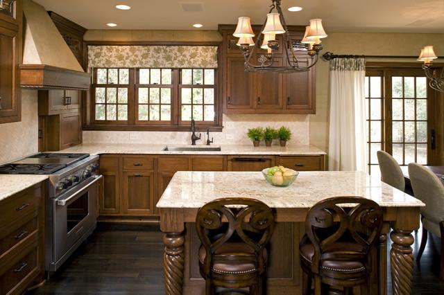 中式风格复式别墅稳重红木家具餐桌效果图