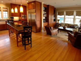 中式风格卧室一层别墅及稳重宜家椅子效果图