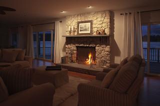 现代简约风格客厅三层平顶别墅浪漫卧室新款布艺沙发效果图