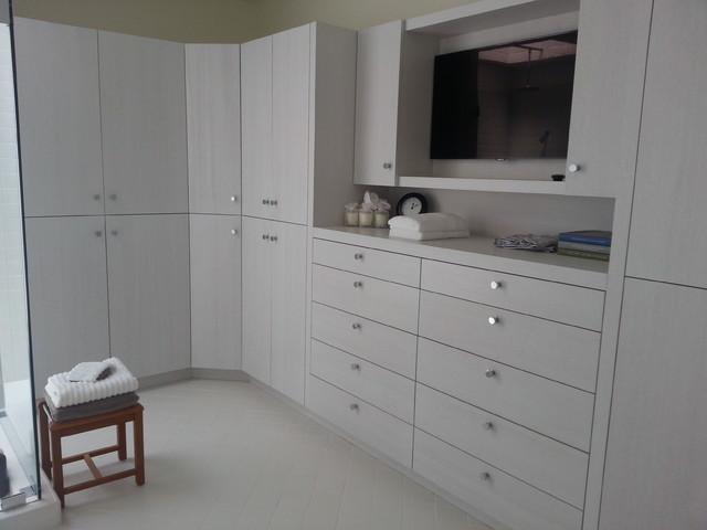 北欧风格卧室25平米小清新收纳柜图片
