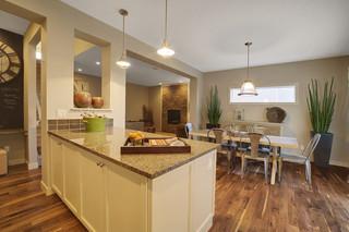混搭风格小清新经济型2014整体厨房设计图