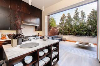 现代简约风格卫生间小清新富裕型一楼阳台设计