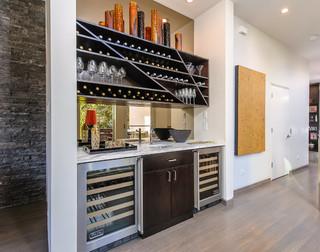 现代简约风格厨房小清新富裕型厨房收纳架图片