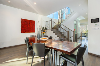 现代简约风格客厅小清新富裕型家庭餐桌图片