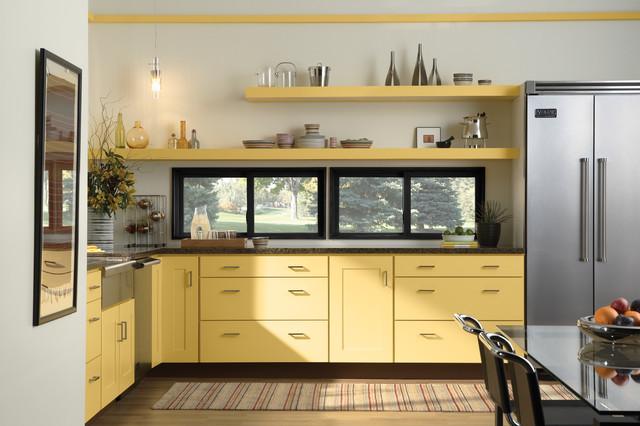 宜家风格低调奢华米黄色富裕型效果图