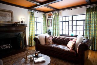东南亚风格客厅艺术豪华型真皮沙发图片