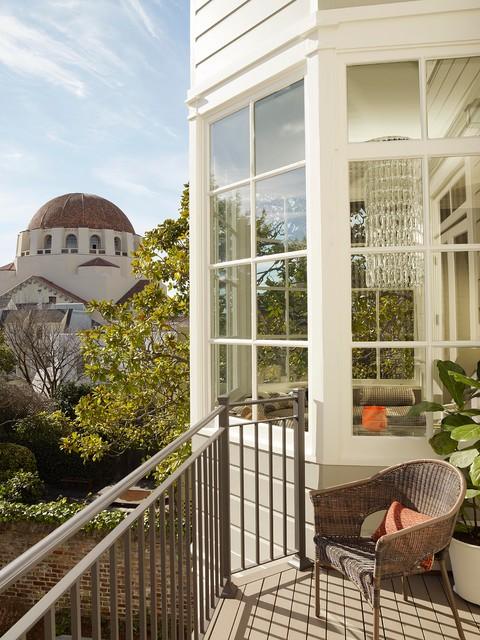 现代简约风格餐厅浪漫卧室富裕型阳台护栏设计图