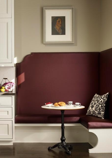 现代简约风格卧室浪漫卧室紫色窗帘富裕型装修效果图