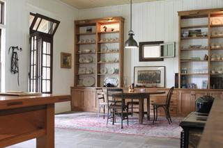 美式风格客厅温馨富裕型厨房收纳架图片