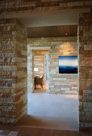 地中海风格2014年别墅唯美大理石背景墙装修图片