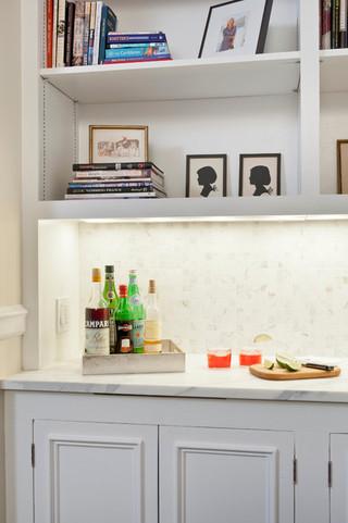 现代简约风格厨房2014年别墅小清新厨房收纳架图片