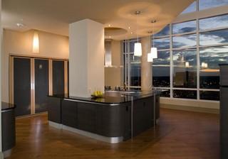 房间欧式风格三层双拼别墅豪华欧式卧室室内玻璃隔断装修图片
