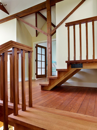 欧式风格家具复式室内豪华卧室实木楼梯效果图