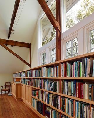 房间欧式风格复式公寓豪华室内装饰书架图片
