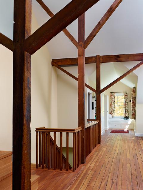 欧式风格复式公寓豪华卧室木地板效果图