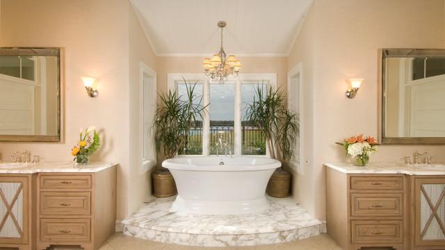 现代美式风格2013别墅豪华别墅浴室柜图片