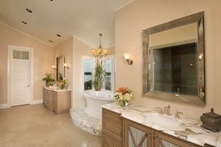 美式风格卧室2013别墅豪华房子实木浴室柜效果图