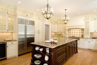 现代简约风格厨房3层别墅客厅豪华装修效果图