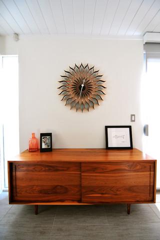 混搭风格三层半别墅经济型电视柜装饰效果图
