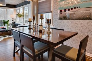 北欧风格卧室三层别墅别墅豪华快餐桌图片