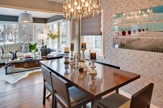 北欧风格卧室2014年别墅豪华卧室中式餐桌图片