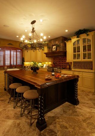 现代欧式风格三层连体别墅欧式豪华红木家具餐桌效果图
