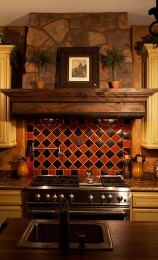 欧式风格卧室一层别墅及欧式豪华2013厨房装修