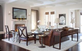 现代简约风格一层半别墅豪华房子室外灯具图片