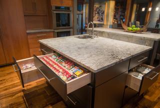 北欧风格豪华室内富裕型厨房收纳架图片