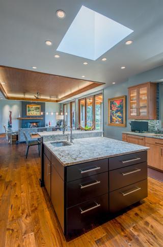 现代北欧风格客厅豪华富裕型6平方厨房效果图