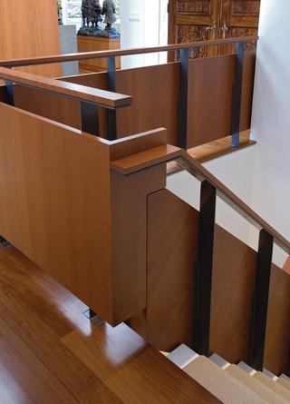 现代简约风格餐厅一层别墅及豪华室内原木色装修效果图