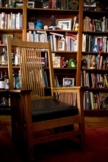 现代简约风格客厅简单实用经济型小书房改造