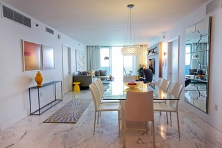 传统风格的的设计装修公寓