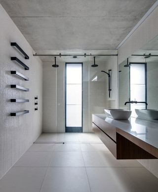 现代简约风格客厅35平米白色地毯经济型设计图纸