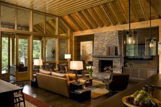 欧式风格卧室复式豪华型实木沙发效果图