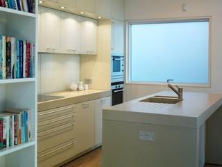 伦敦现代简约白领公寓经济型装修