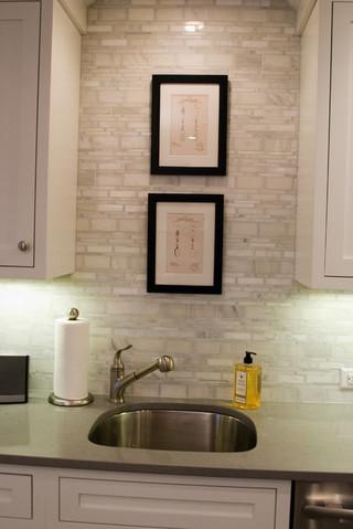 稳重富裕型2014家装厨房瓷砖电视墙图片