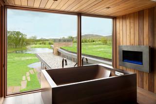 美式风格客厅一层半别墅浪漫卧室卧室窗户效果图