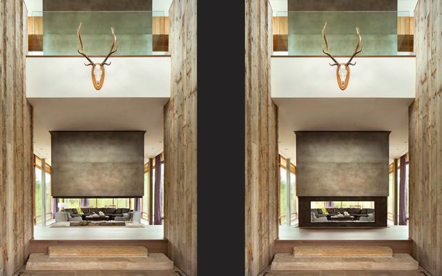 现代美式风格三层独栋别墅浪漫卧室别墅外墙瓷砖效果图高清图片