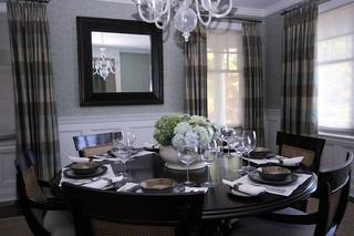 混搭风格实用卧室经济型实木餐桌图片