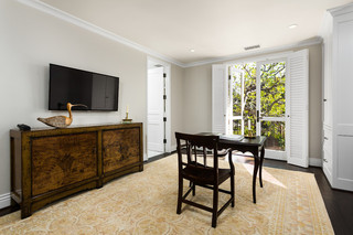 美式风格复式客厅唯美厨房地砖效果图