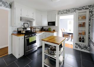 新古典风格客厅温馨装饰2014厨房吊顶橱柜效果图
