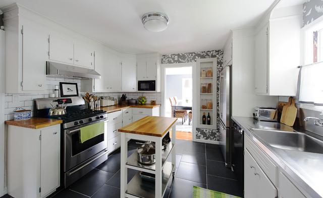 新古典风格温馨2014整体厨房整体橱柜图片